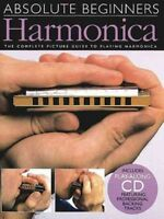 Absolute Beginners : Harmonica, Paperback, Brand New, Free shipping in the US