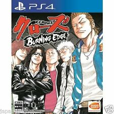 Crows Burning Edge SONY PS4 PLAYSTATION JAPANESE NEW JAPANZON