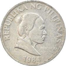 [#814808] Coin, Philippines, 5 Sentimos, 1984, EF(40-45), Aluminum, KM:239