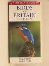 Birds of Britain and Europe (A Photographic Guide), Jim Flegg, Paul Sterry, Exce