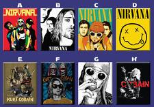 Nirvana Kurt Cobain Artwork Poster Ref Magnet Collectible