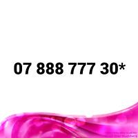 07 888 777 30* EASY MOBILE NUMBER GOLD DIAMOND PLATINUM VIP BUSINESS SIM CARD