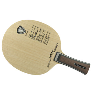 Xiom Offensive S Table Tennis and Ping Pong Blade, Authentic, Choose Handle Type