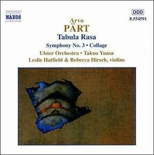 Arvo Pärt: Tabula Rasa; Symphony No. 3; Collage, New Music