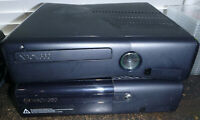 Xbox 360 2 Console 2 Controllers Power Cords and Blocks Lot HDMI Cable Untested