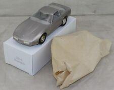 Corvette 1984 Dealer Promo 1/25 Scale Mib Unused From Factory Case Silver