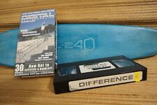 Vhs Digital - Difference 2002, Used Cannon, Hastie, Sheckler, Lutzka, Appleyard