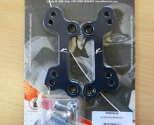 ZX6R & 636 05-15 NO ABS adjustable jack up footrest plates pegs riser track race