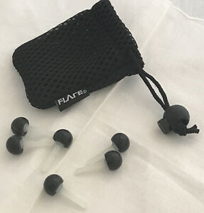 Flare Ear Plugs New 3 X Pairs