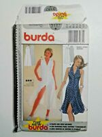 Burda #3187  Dress Fitted  Sewing Pattern  Sizes 8-18 OOP  Uncut