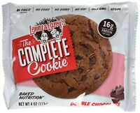 LENNY & LARRYS Double Chocolate Complete Cookie Box, 4 OZ (Pack of 12)