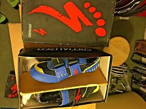Vintage Specialized El Gato Road Comp Cycling Shoes (Euro 43) (US 10) New in Box