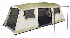 OZtrail Bungalow 9 Single Skin Tent with Fly Sheet - Cream/Eucalyptus
