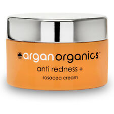 Rosacea Treatment Cream Anti Redness Argan Organics Skin Care 50ml