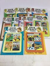VINTAGE DICK TRACY MONTHLY LOT OF 11 BLACKTHORNE COMICS #29 THRU #39 MUST SEE