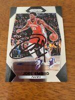 Joel Embiid Hand Signed Autographed Prizm 76ers Rookie Basketball Card W/COA