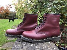 Dr Martens 1460 Vintage Skinhead Cherry Red Boots UK 12 EU 47