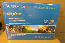Supermicro C7X58, LGA 1366/Socket B, Intel (MBD-C7X58-O) Motherboard