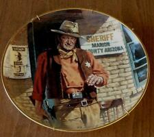 John Wayne, American Legend Franklin Mint Heirloom Collectible Plate, LA 7103