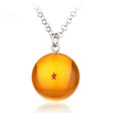 Anime Dragon Ball Z Necklace Artificial Crystal Pendant Cosplay Jewelry 1 Star