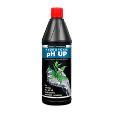 Growth Technology PH Up 1L Hydroponic Acidity Control 1 Litre