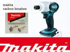 Controlador de Impacto Makita 18V Bhp451 BTD140 btd146 Original Escobillas de carbón CB440
