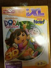 Fisher Price Nickelodeon Dora Explorer Kids Learning Software Cartridge 3D Game