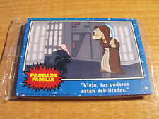 FAMILY GUY 12 CARD PREVIEW SET FOR BLUE HARVEST / STAR WARS, SPANISH LANGUAGE