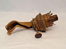 Antique B & R  Brass Oil Lamp Burner