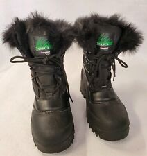 Women's Itasca Thinsulate Black Snow Boots  Sz.5M   *A41