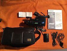 1 x Sharp vl-c690s zoom 8 VHS video camera, videocámara