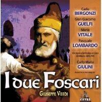 CARLO BERGONZI/GIANGIACOMO GUELFI/+ - I DUE FOSCARI (GA)  2 CD  OPER VERDI NEU