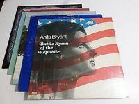Lot Of 5 American Theme LP Wholesale Byron MacGregor Vinyl Record