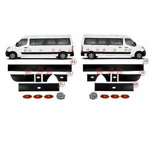 Portes Latérales moulure bande Panneau set côté gauche-droite Renault Master 3