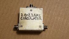 RF Microwave Circulator 2.0-2.2GHz 3-Ports SMA(f) Isolator Antenna Transceiver