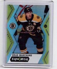 2017-18 UD Synergy Hockey card # 6 Brad Marchand