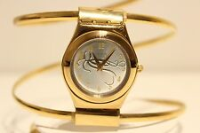 "RETRO RARE JAMES BOND 007 OCTOPUSSY LADIES IRONY QUARTZ WATCH BRACELET ""SWATCH"""