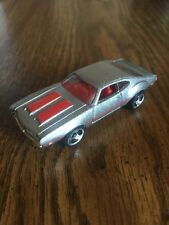 Hot Wheels Oldsmobile 442 Silver 3SP '93 Warner Malaysia Base Diecast Toy Car