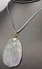 New listing Pendant 50x44mm Lavender-to-Pale Green 14k Bale