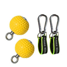 Climbing Pull Up Power Ball set Training Cannonball Hold Grip Pointing Hand 72mm