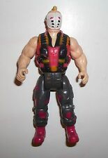 Vintage 1985 Psycho 3 3/4 Schwarzenegger Commando Action Figure by Diamond