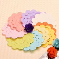 20pcs 10 Colors DIY Flower Rose Quilling Paper Origami Paper DIY Craft Nice New.