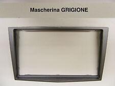 Mascherina autoradio Doppio 2 Din OPEL H Astra Corsa Zafira dal 2005 in GRIGIONE