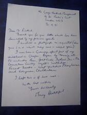 Mary Blatchford letter (no photo)  - Autograph (GC5)