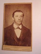 Romanshorn - junger Mann im Anzug - Portrait / CDV