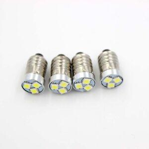 4pcs LED Bulb 200LM For 2/3/4 C/D Flashlight Torch Bike Lamp E10 3V 4.5V 6V 12V