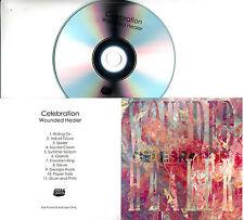 CELEBRATION Wounded Healer 2017 UK 11-trk promo test CD Bella Union
