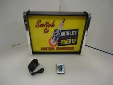 Auto Lite Spark Plug LED Display light sign box