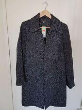 Katie's women's salt and pepper coat BNWT