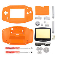 Replacement Yellow Housing Shell + Screen Len for Nintendo Gameboy Advance GBA